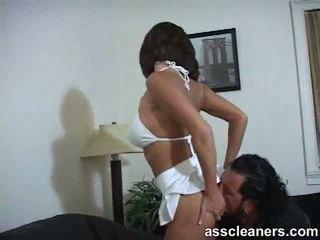 ass licking, brunettes