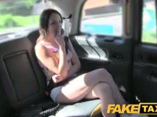 Faketaxi Spanish Teen With Nice Arse