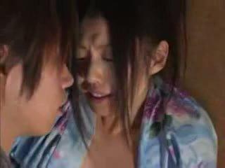 japonais, sexe, filles asiatiques
