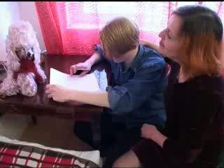 रूसी, माताओं और लड़कों, hardsextube