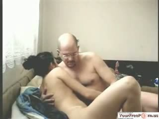 Russian chick Fucks Stepuncle For Cash