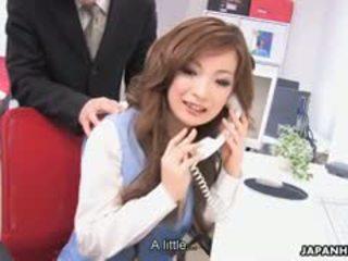 brunette, japanese