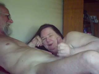 I vjetër gal sucks & plays me i vjetër guy, falas porno 5b