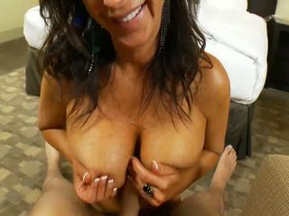 47yr Cougar Tied Up and Fucking