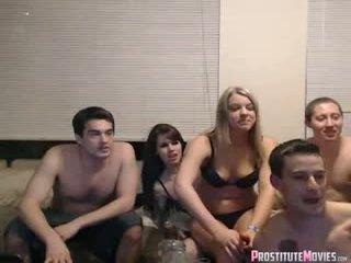 group sex, webcam, striptease