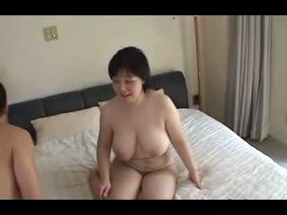 44Yr Old Chubby Busty Japanese Mom Cra...