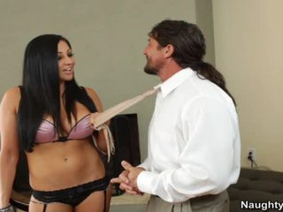 Audrey Bitoni Gets Pumped On A Chair