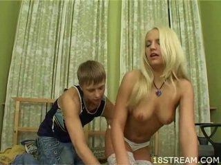 Gyzykly teens having lewd sikiş
