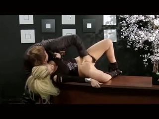 Christy Mack fucked in a office