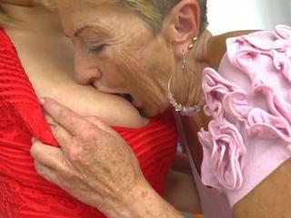 lesbiene, grannies, hd porno