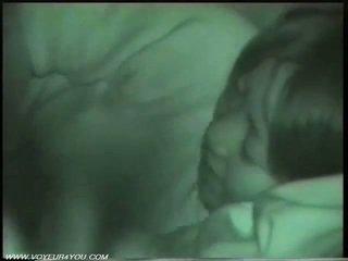 Utomhus natt bil kön av infrared camera