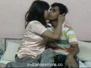Indiano lovers hardcore sesso scandal in dormitorio stanza leaked