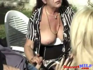 Hairy Mature Wife Likes it in the Ass