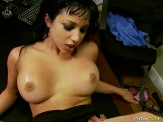 brunette, hardcore sex, melons