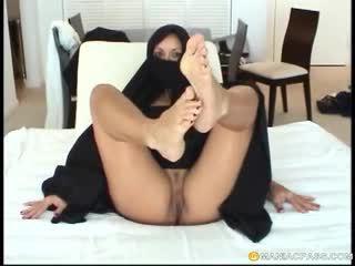 fajčenie, foot fetish, arab