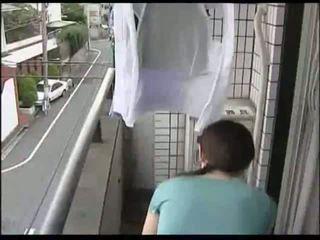 japoński, gospodyni domowa, mamuśki