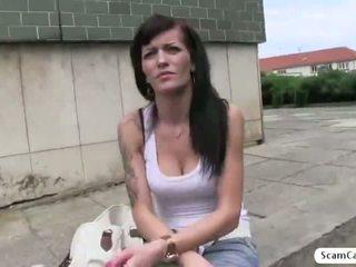 Красуня adela gets обдурена по the agent і вона gets трахкав