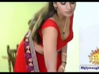 South 印度人 女演员 bhuvaneshwari navel 节目