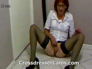 crossdresser, ตูด, crossdressing