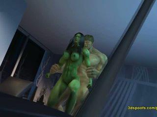 She hulk he - there ay nothing katulad baliw angry pagtatalik!