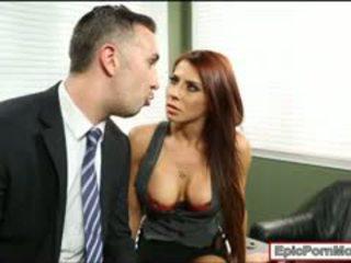 オフィス 娼婦 madison ivy 精液 swallows 後に ハードコア セックス