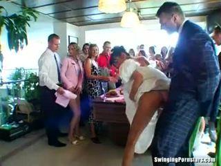 wedding, フェラチオ, パーティー