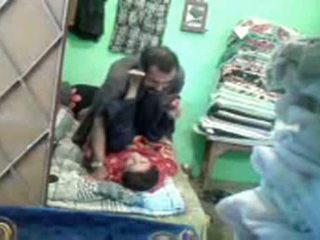 Pakistanilainen couples kätketty nokan seksi video-