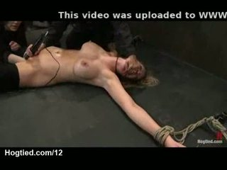 Tied up babes fisted and toyed
