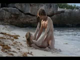 Extrém művészet szex a kívánós pár tovább tengerpart