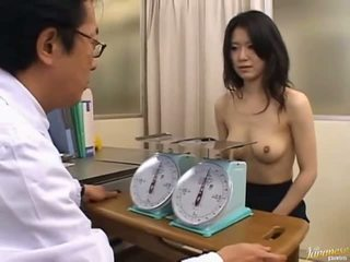 Japonesa av modelo monada oficina chica
