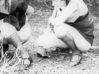 Piss: antic porno 1910s