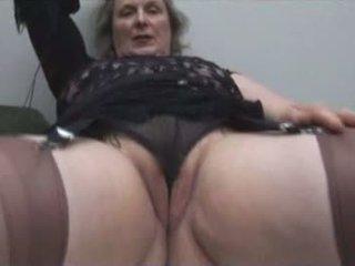 striptease, bestemor, solo