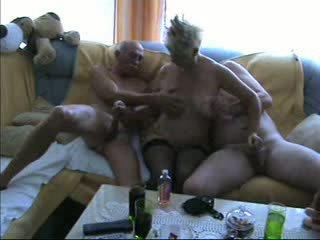 Reif bisexuell dreier video