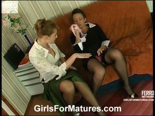 Bridget And Sheila Milf In Lesbie Process