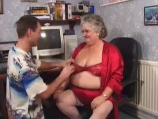 bbw, nenek, seks