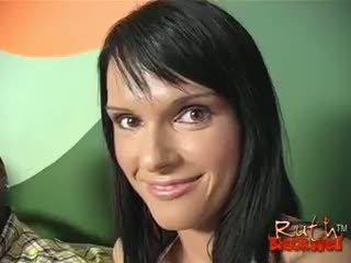 brunette, reality, blowjob