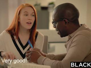 Blacked pierwszy duży czarne kutas na dolly trochę