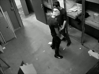 Caught on hidden cam