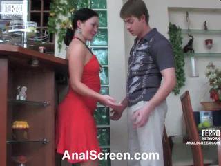 Gwendolen и arthur зашеметяващ анално филм