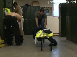 Αστυνομία changing δωμάτιο
