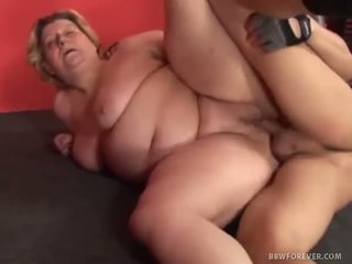 Mature BBW Tamara Creamed In Her Fat Old Pussy