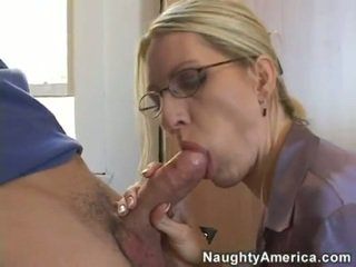 blowjobs, huge tits, glasses