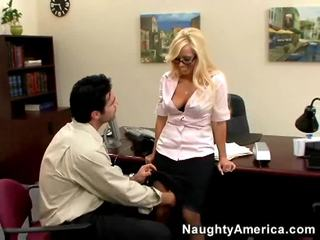 性交性爱 质量, 理想 金发, 查 办公室做爱 hq