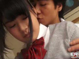 Supercute Japanese Schoolgirl Itsuka Fucked And Creampied