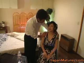 Kåta japanska äldre babes sugande part6