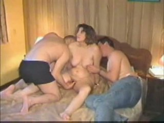 Homemade french threesome