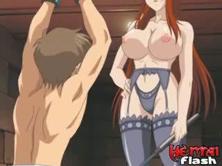 hentai, redhead, fetish
