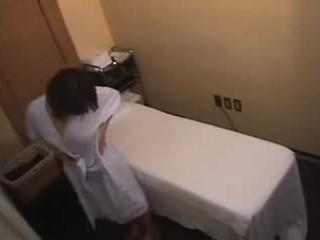 japanse, geschoren, massage