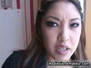 Asia beauty sucks bigcock in a airport