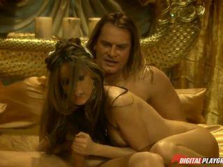 Lustful whore Jenna Haze fucked one of the pirates